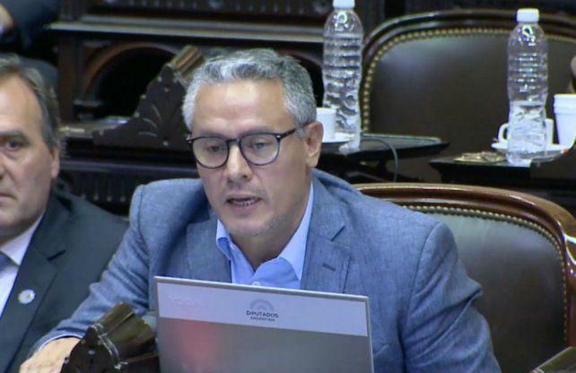 El diputado nacional santafesino José Núñez.