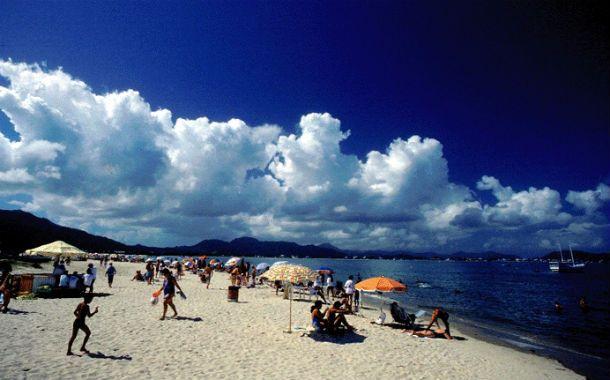 Sur brasileño. Las playas de Florianópolis son un destino muy buscado por los rosarinos.