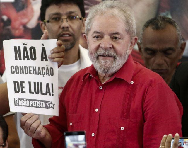 Desafío. No a la condena de Lula.