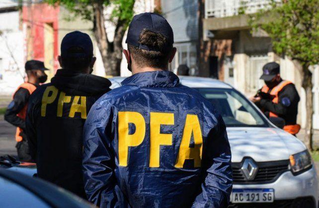 Fuerzas federales llegaron para colaborar con la policíaprovincial.