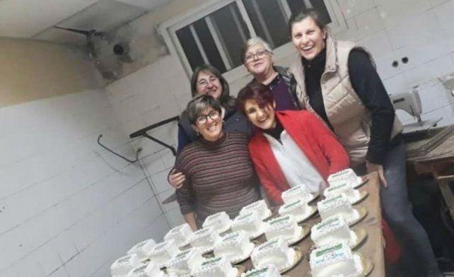 La comuna de Susana festejó su aniversario con 500 tortas para los vecinos
