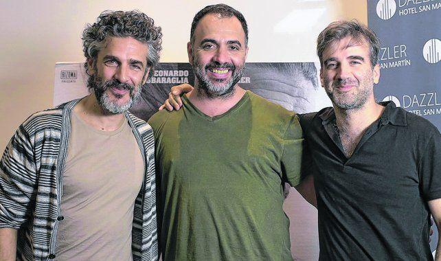 Tres talentos. Leonardo Sbaraglia