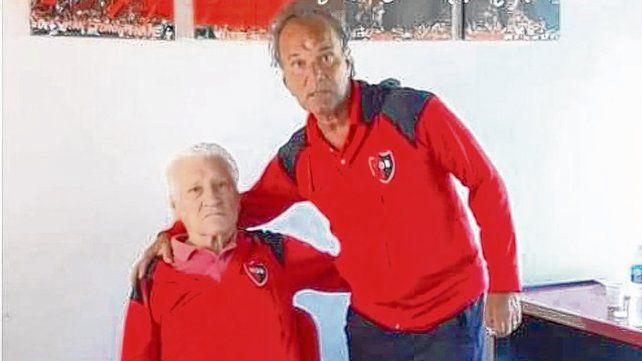 Gran dupla. Enrique Borrelli es el responsable de las inferiores y cuenta con el apoyo de Jorge Griffa.
