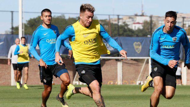 Lo reservaron. Buffarini hizo fútbol y sería de la partida en el encuentro en Colombia.