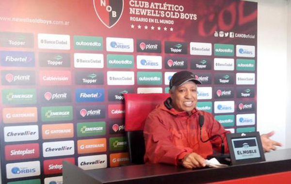 Gallego dijo que Newells tiene su estilo y que eso debe preocupar a Godoy Cruz.