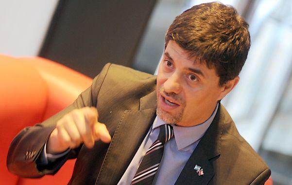 Activo. Marcelo Díaz Díaz tiene 44 años y una vasta carrera como político. Fue dos veces diputado (hasta 2014) por la coalición que hoy gobierna Chile.