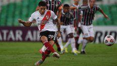 Gonzalo Montiel fue el encargado de abrir el marcador a través de los 12 pasos.