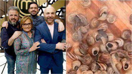 Caracoles polémicos. Muchos veganos criticaron la cocción de los moluscos y Dolli Irigoyen dio explicaciones.