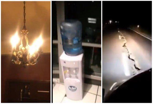 Terremoto en San Juan: Los rosarinos publicaron en las redes sociales los videos del impacto del sismo en la ciudad