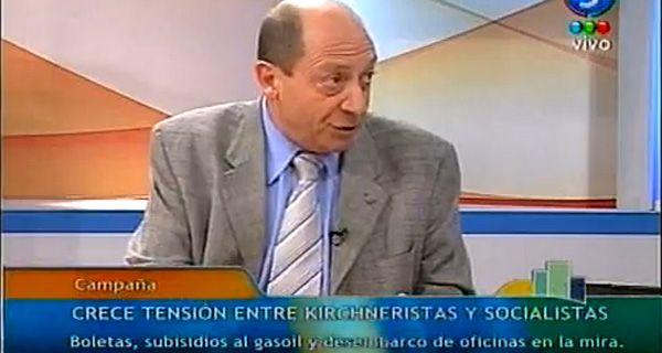 Superti: El kirchnerismo le apunta ahora a Binner porque se convirtió en candidato nacional