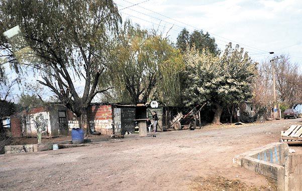 El lugar. Mendoza y Los Gallegos