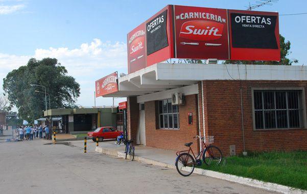 Cerrado. El establecimiento cárnico venadense funcionó hasta el año pasado. Empleaba a más de 600 operarios.