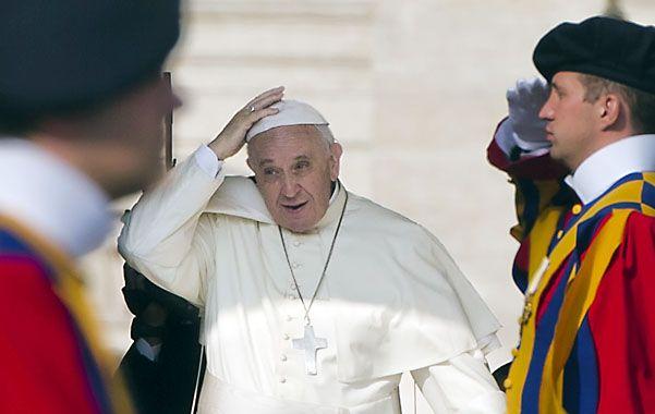 """Esperado. El Pontífice ha recibido reproches por """"descuidar a Europa""""."""