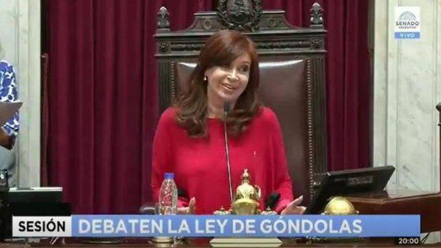 La tensa discusión entre Cristina y una senadora opositora
