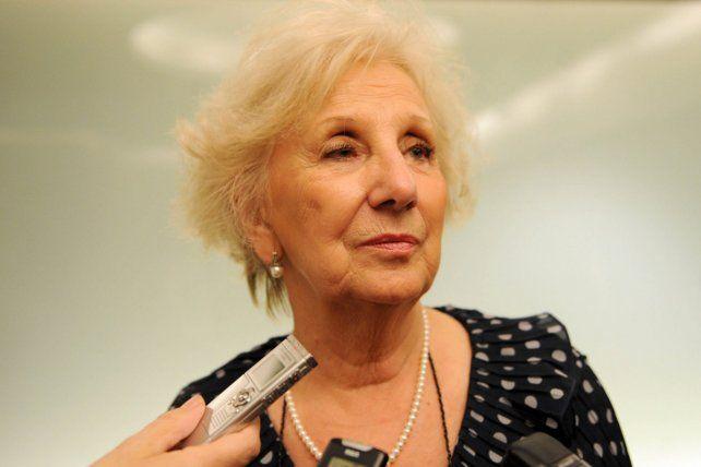 Carlotto consideró que hay una apología del delito en las declaraciones de Gómez Centurión.
