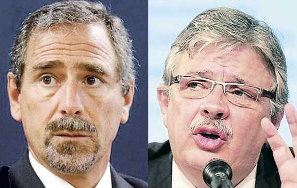 Los ex secretarios Jaime y Schiavi