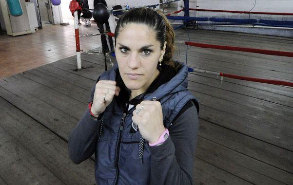 En guardia. La Leona Rosarina combatirá con Ana Esteche.