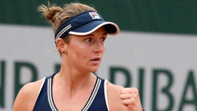 La Rusa Podoroska está enfocada y rompiendo marcas. Se lleva las miradas en París y tracciona las del tenis femenino argentino.