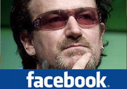 Bono compra el 1% de Facebook