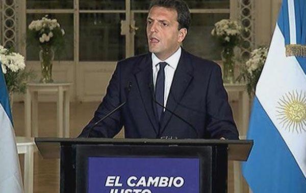 No se baja. Massa insiste en que será el presidente de los argentinos.