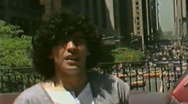 1984. Diego Maradona paseó por la ciudad neoyorquina sin que nadie lo acosara.