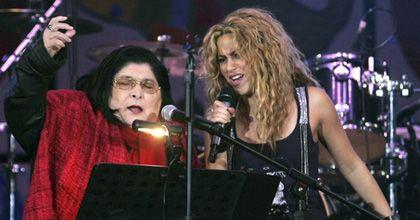 Mercedes Sosa grabó un disco junto a los cantantes más selectos del continente