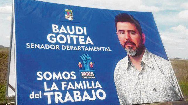protagonista. La acusación formal indica que el candidato Goitea fue partícipe primario de dos robos calificados por el uso de arma de fuego apta para disparo