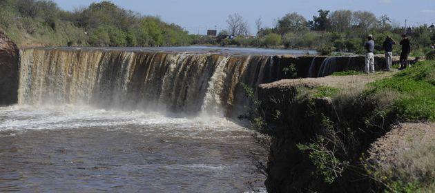 La agresión ocurrió en la zona de las cascadas del Saladillo.