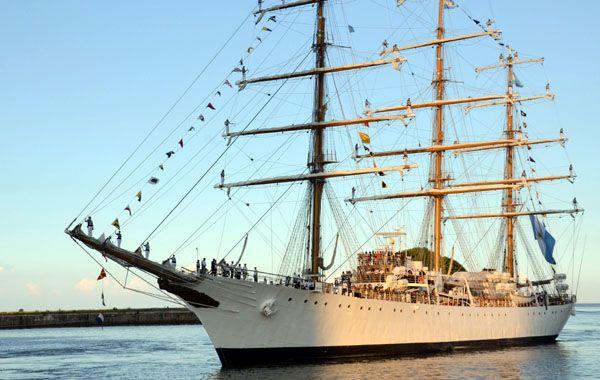 Cristina anunció que la Fragata Libertad arribará al puerto de Mar del Plata