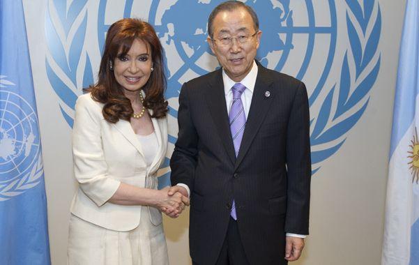 La presidenta argentina disertará hoy en la 69º Asamblea General de la Naciones Unidas.