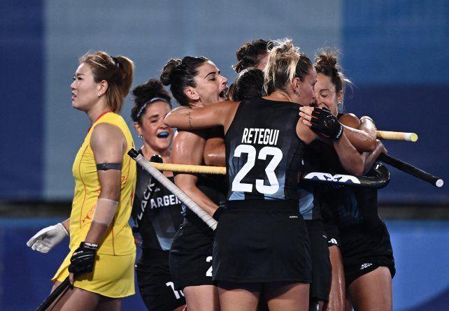 Las Leonas derrotaron este miércoles a China por 3-2 por el Grupo B de Tokio 2020.