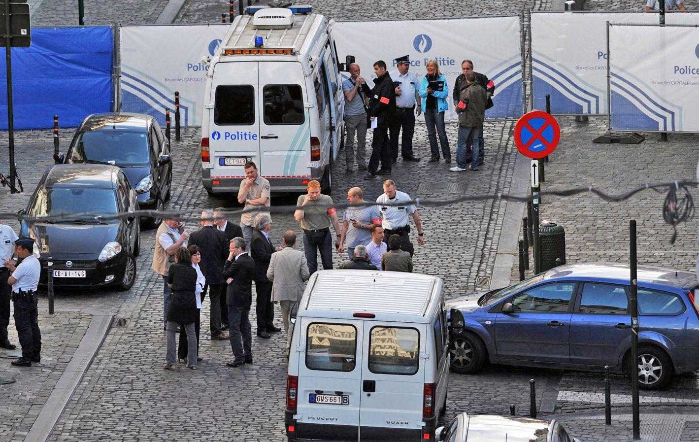 Pericias. El ataque antisemita ocurrió en el barrio Sablón de la capital belga.