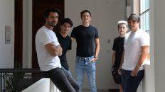 El Estudio BBOA: Tomás Balparda, Franco Mascetti, Fernando Brunel, Neo Borrel y Bruno Degiorgio.