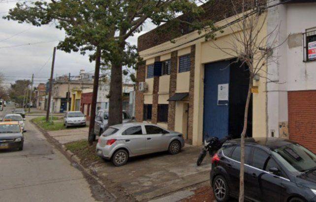 El lugar. La fábrica asaltada el pasado martes en la zona sur de la ciudad.
