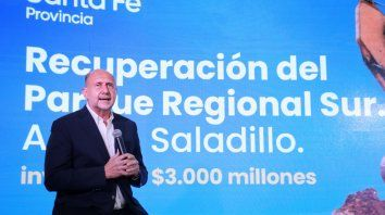 Obra en Rosario: Recuperación Parque Regional Sur