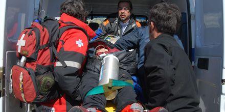 Rescataron a tres chicos que fueron atrapados por una avalancha en Bariloche