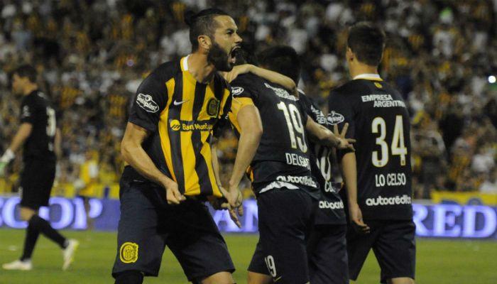 Marcelo Larrondo llego esta temporada a Rosario Central y le fue de mucho provecho al Chacho Coudet.
