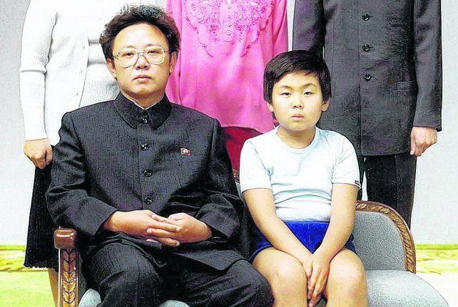 Familia unida. El asesinado Kim Jong-nam en 1981