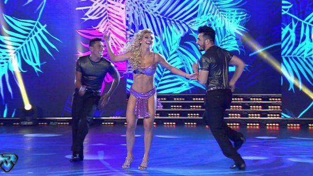 Brian Sarmiento bailó la salsa con Sol Pérez, la rompió toda y sacó un gran puntaje
