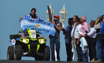 Federico Gut completó la mitad del recorrido y ahora buscará llegar a Lima