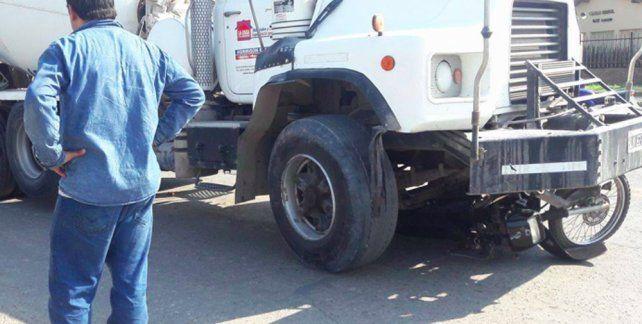 El trágico accidente ocurrió alrededor de las 17 en la zona sur de San Lorenzo.