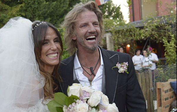 El actor pasó por el registro civil el jueves 20 a primera hora de la mañana en total hermetismo y se casó con la modelo. (Gentileza: Ciudad.com)