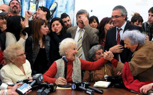 La presidenta de Abuelas de Plaza de Mayo logró recuperar a Guido