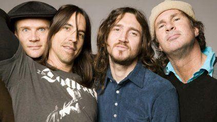 Flea, Anthony Kiedis, John Frusciante y Chad Smith.