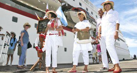 Rosario debutó como destino para cruceros turísticos internacionales