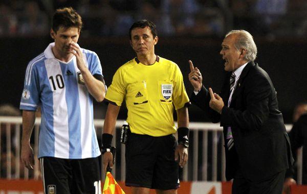 Messi no fue confirmado todavía
