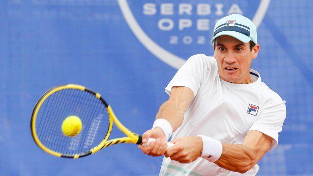 Bagnis se impuso por 6/4 y 6/2 ante Medjedovic para alcanzar 18 éxitos sobre 19 partidos de qualy en ATP (solo perdió un partido en 2019)