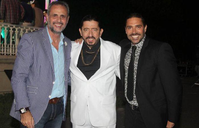 Jorge Rial se peleó en las redes con Matías Alé (derecha).