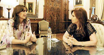 La presidenta recibió a Bielsa en medio de la crisis por Diputados