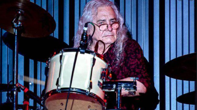 Rodolfo García fue un baterista muy respetado por sus colegas. Falleció este martes a los 75 años.